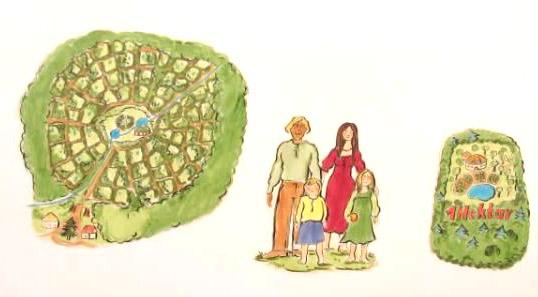"""Illustration aus dem Video """"Familienlandsitze einfach erklärt"""""""